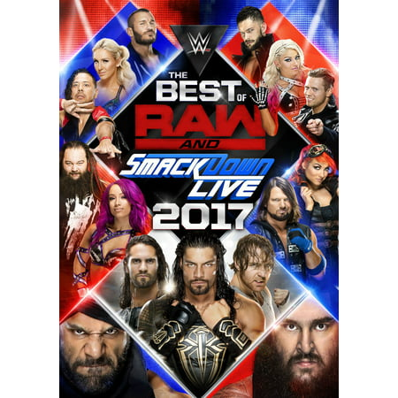 WWE: The Best of Raw and SmackDown Live 2017 (DVD) - Childrens Halloween Tv Shows 2017