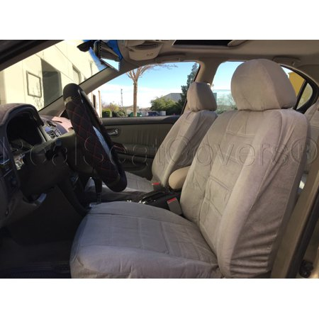 A Thick Heavy Protective Fabric Smooth Textured Seat Cover Front - Acura rdx seat covers