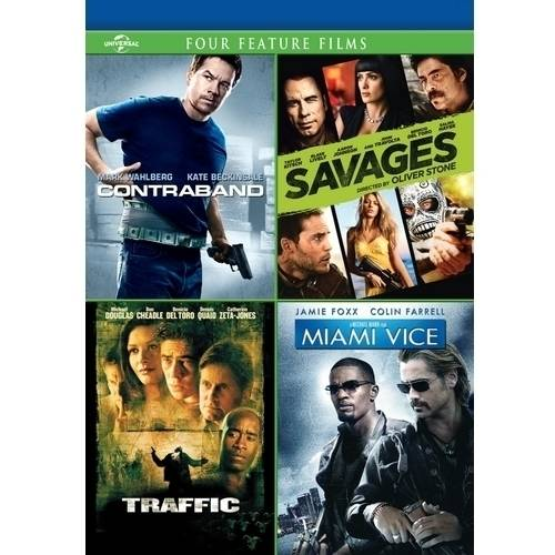 Contraband / Savages / Traffic / Miami Vice (With INSTAWATCH) (Widescreen)