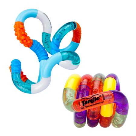 zuru tangle fidget toy assorted colors walmart com