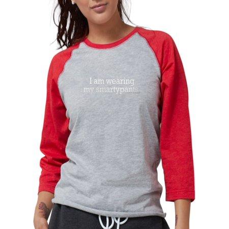 2958036dad6 CafePress - Smartypants Blk Long Sleeve T Shirt - Womens Baseball Tee -  Walmart.com
