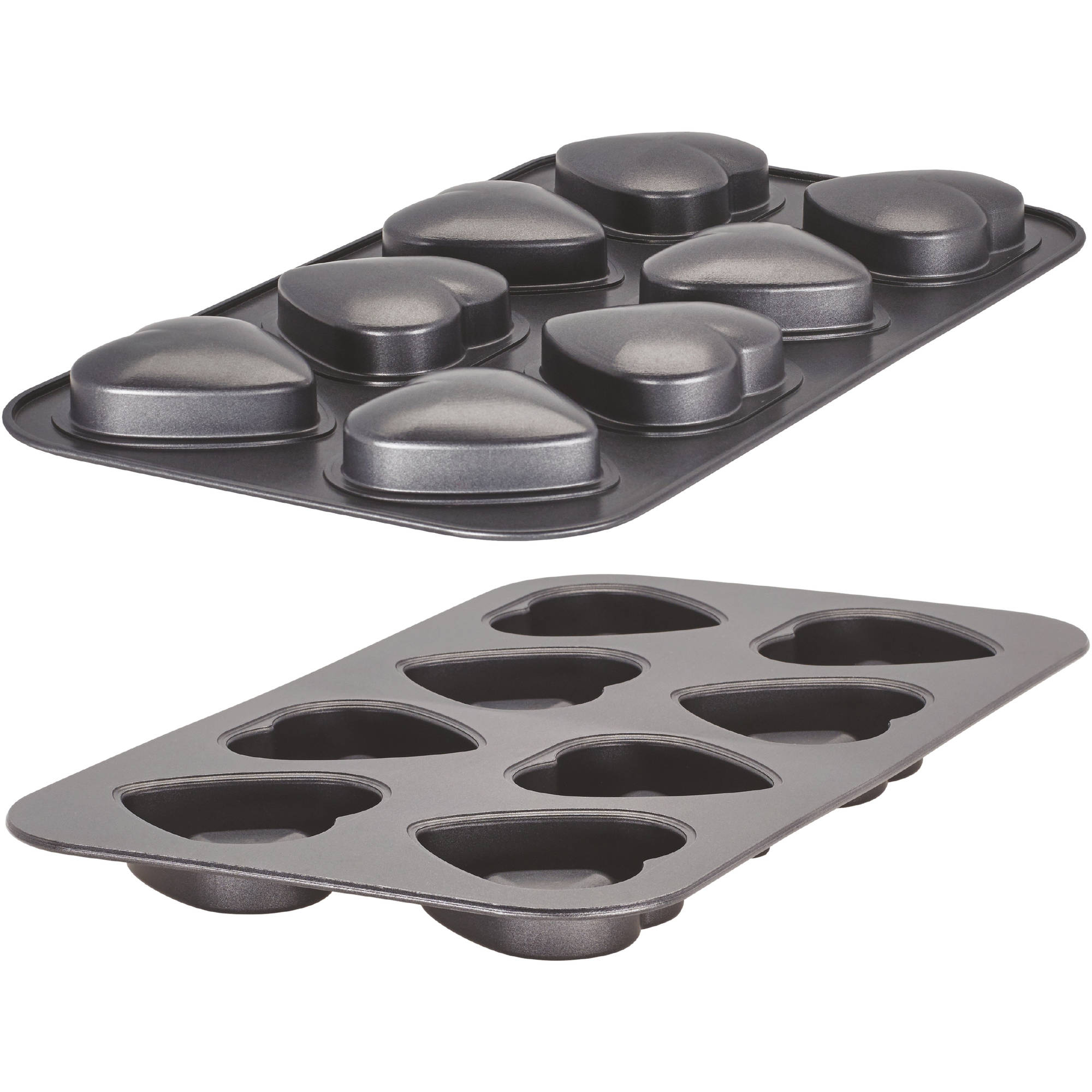 Bakers Advantage Fillable Mini Heart Cake Pan by Generic