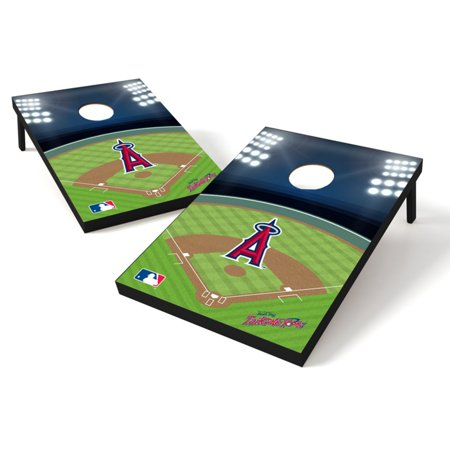 Wild Sports MLB LA Angels 2x3 Field Tailgate Toss