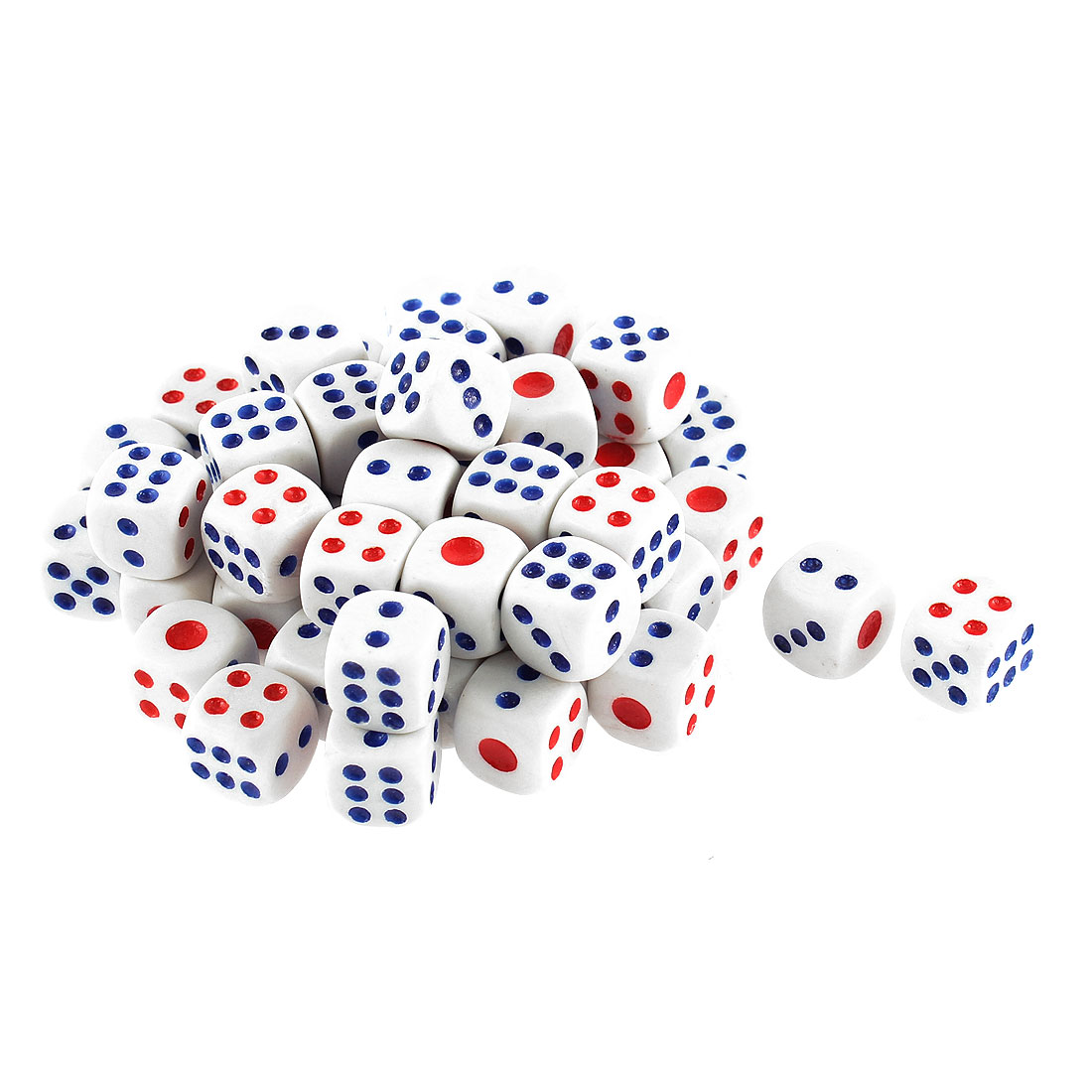 Unique Bargains Game Dices 50 Pcs