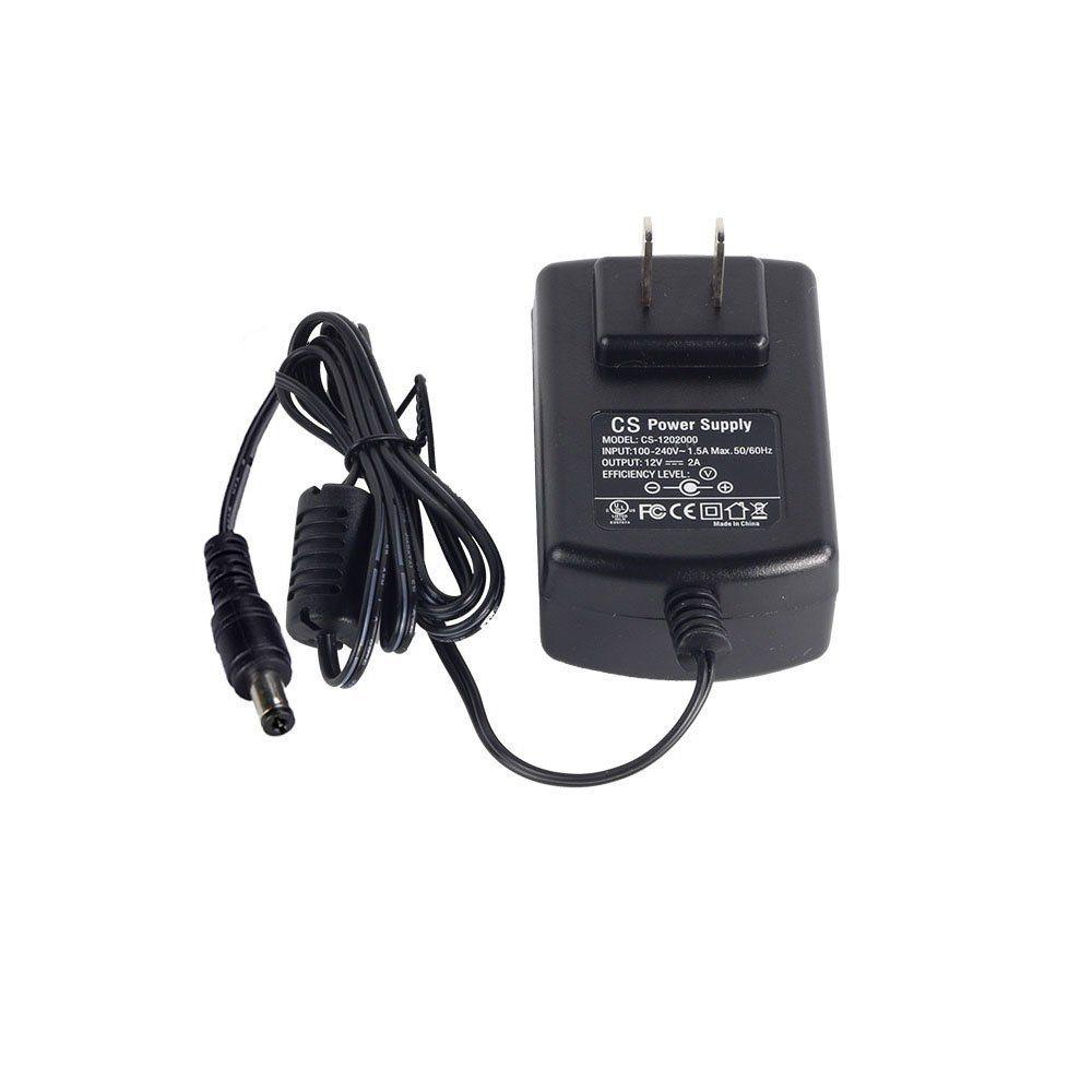 Certified Refurbished ZOSI DC 12V 2A 2000MA US CCTV Power Supply Adapter for Home Security Camera Surveillance System