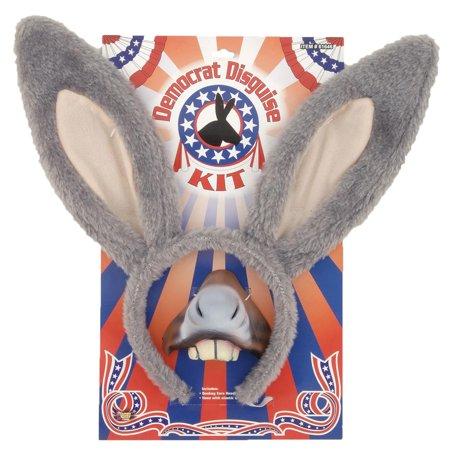 Democrat Kit Adult Halloween Accessory for $<!---->