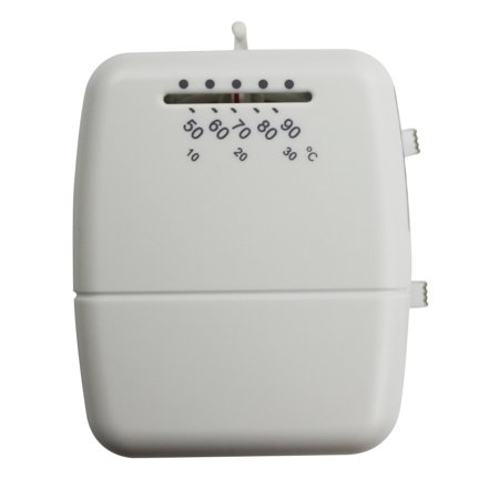 Intertherm Wall Thermostats - White Thermostat Heat/Cool Heat Wall Thermostat