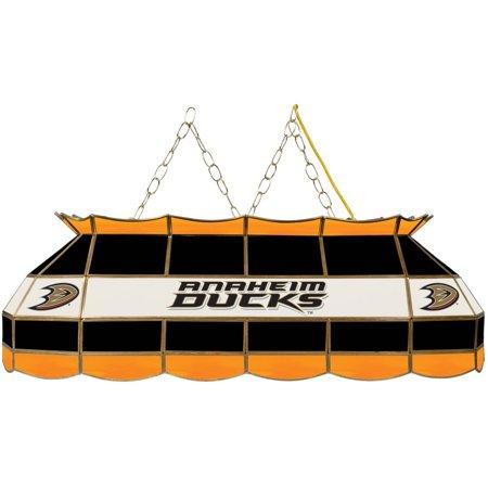 "NHL Handmade Tiffany Style Lamp, 40"", Anaheim Ducks by"