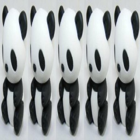 Collectable Eraser - Iwako Panda Erasers, a Set of 5 Pieces, Made in Japan, Collectable.