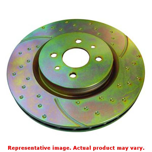 EBC Brakes GD850 3GD Sport Rotors Fits:ACURA | |1990 - 1996 INTEGRA  Position: