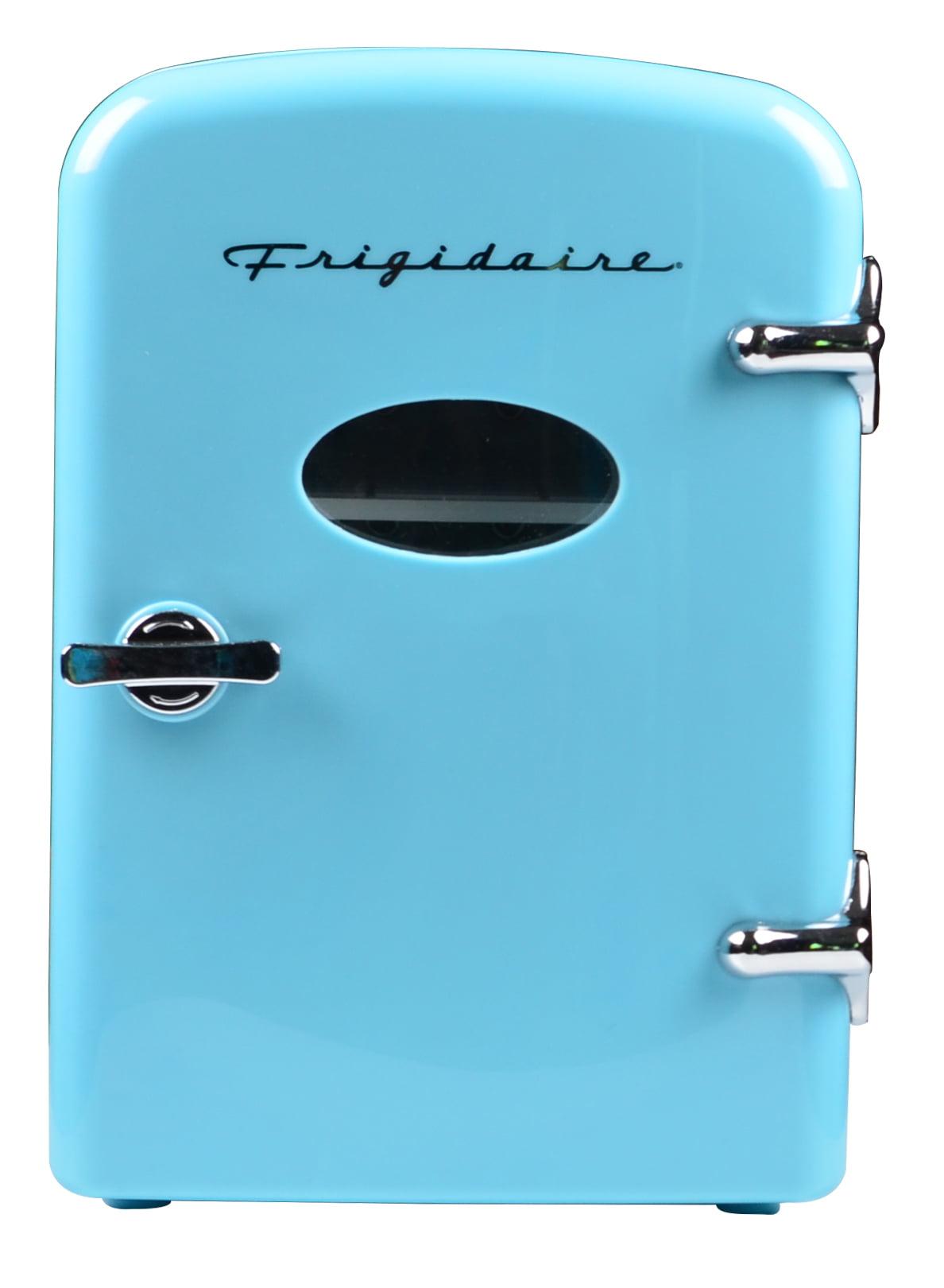 Frigidaire Portable Retro 6 Can Mini Fridge Efmis129 Blue Walmart Com Walmart Com