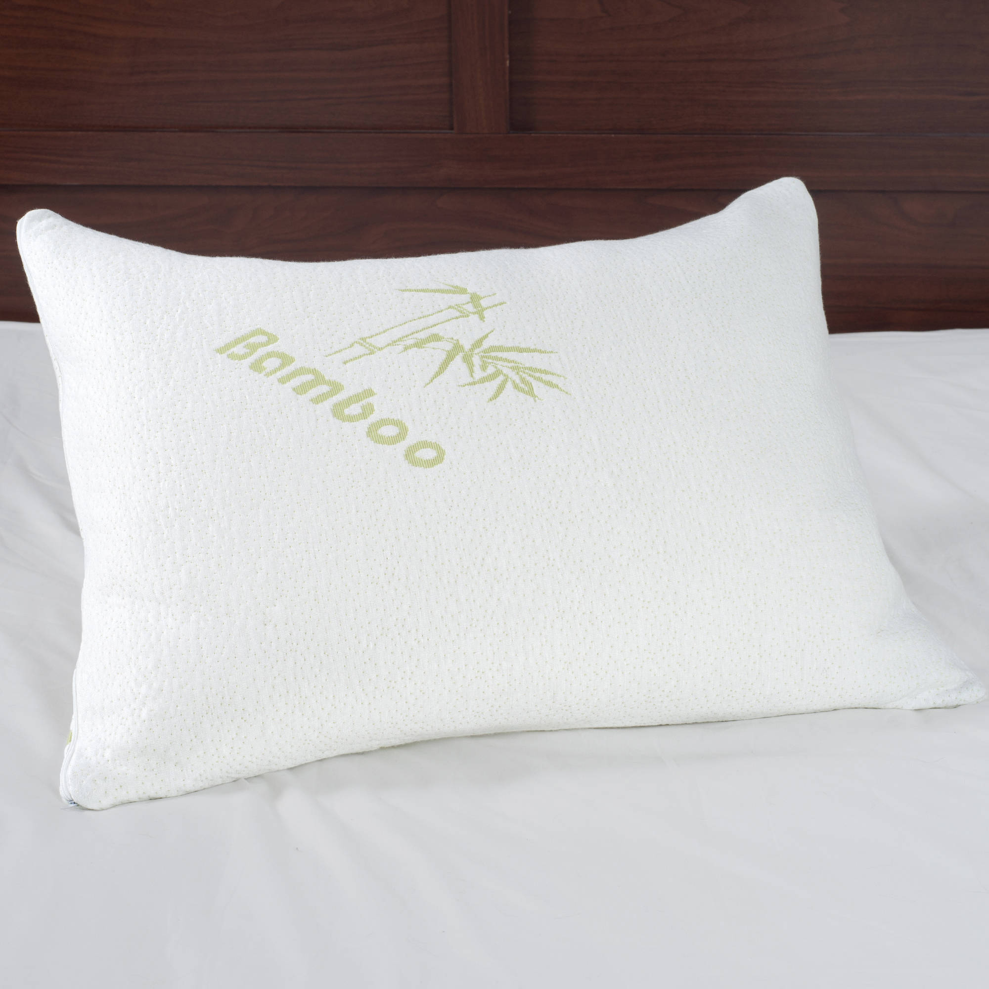 Memory Foam Pillow, Pillow Cover Bamboo from Rayon, Bed Pillows for Comfort and Support by... by Trademark Global LLC