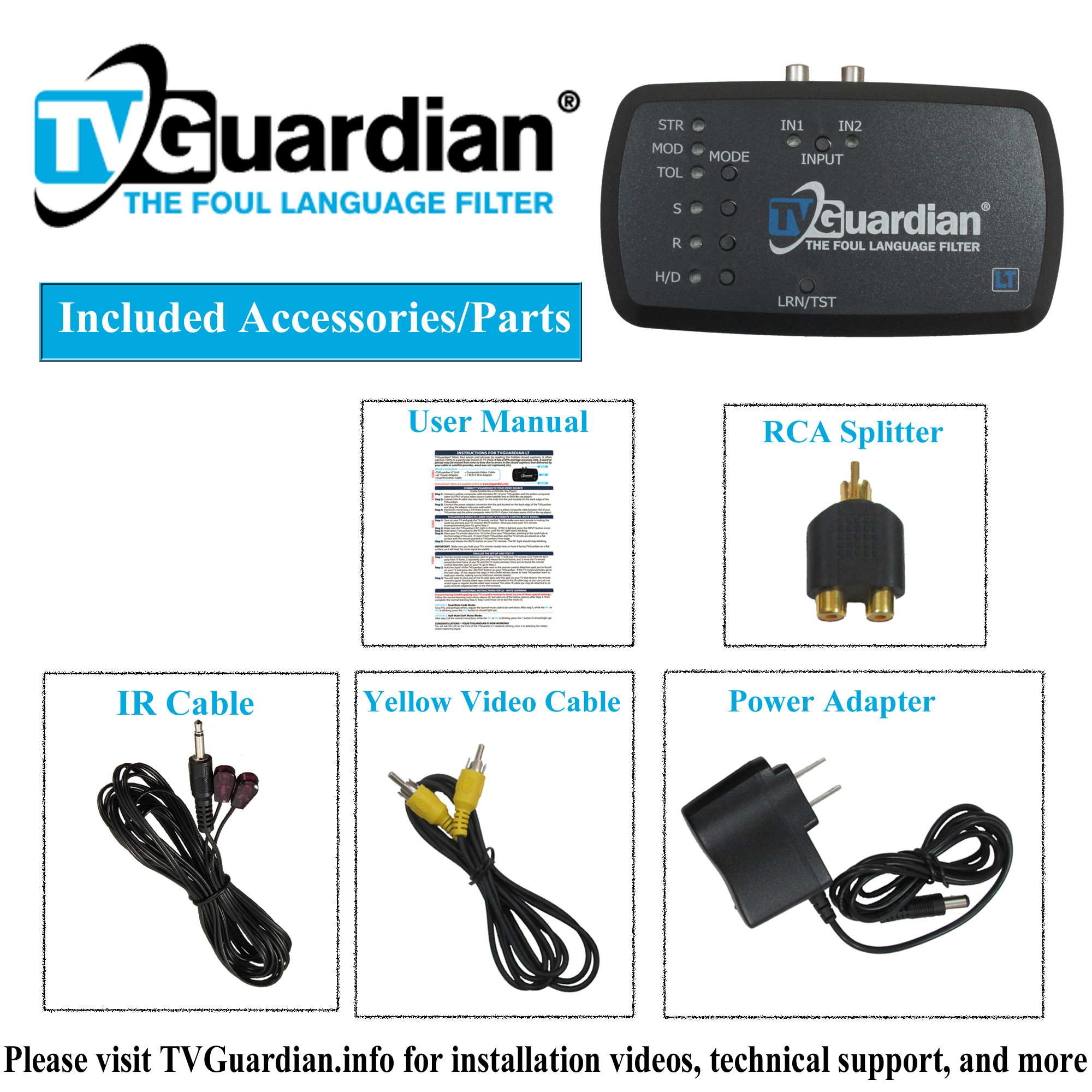 Tvguardian Foul Language Filter Lt Wiring Batteries In Series And Parallel M4v