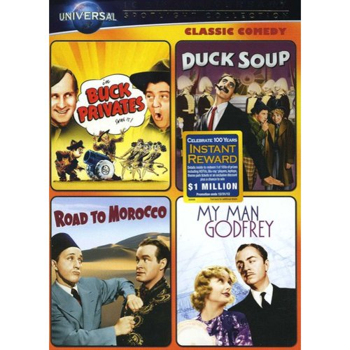 Classic Comedy Spotlight Collection: Buck Privates / Duck Soup / Road To Morocco / My Man Godfrey (Universal 100th Anniversary Collector's Series) (Full Frame, ANNIVERSARY)