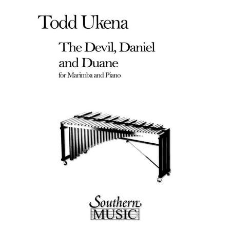 Hal Leonard Devil, Daniel And Duane, The (Percussion Music/Mallet/marimba/vibra) Southern Music Series by Ukena, - Percussion Music Sheets