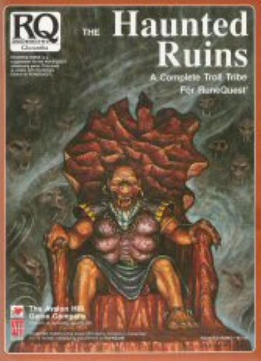 Haunted Ruins, The Great Condition by Avalon Hill