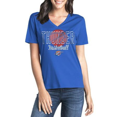 Oklahoma City Thunder Player - Women's NBA Oklahoma City Thunder Paul George Short Sleeve Player Tee