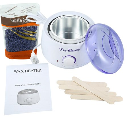 Hair Removal 100-240V Hot Paraffin Wax Pot Warmer Heater Salon Spa Depilatory US Plug, Depilatory Wax Heater, Warmer Wax