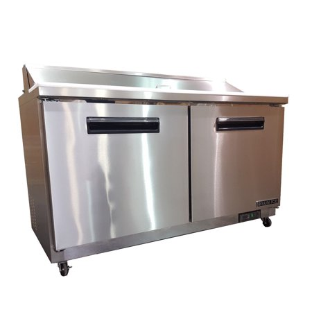 Sun Ice Commercial Salad Sandwich Prep Table Refrigerator - Commercial sandwich prep table