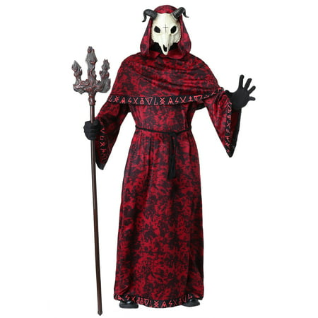 Adult Demon Costume - Costume Demon Horns