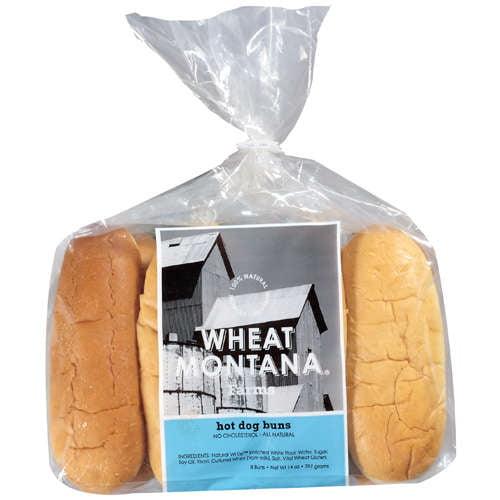Wheat Montana Farms: Hot Dog Buns, 8 Ct