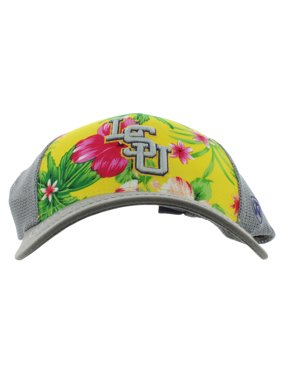 b16b2474be04e9 Product Image Top Of The World Mens Louisiana State University Ocean Front  Cap Grey One Size