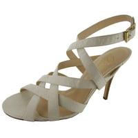 7bcfb2c77b Product Image Delman Womens Elite Snakeskin Strappy Sandal
