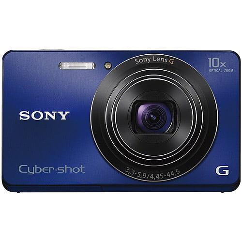 Sony Cyber-shot DSCW690/L Blue 16MP 10x Ultra Zoom Digita...