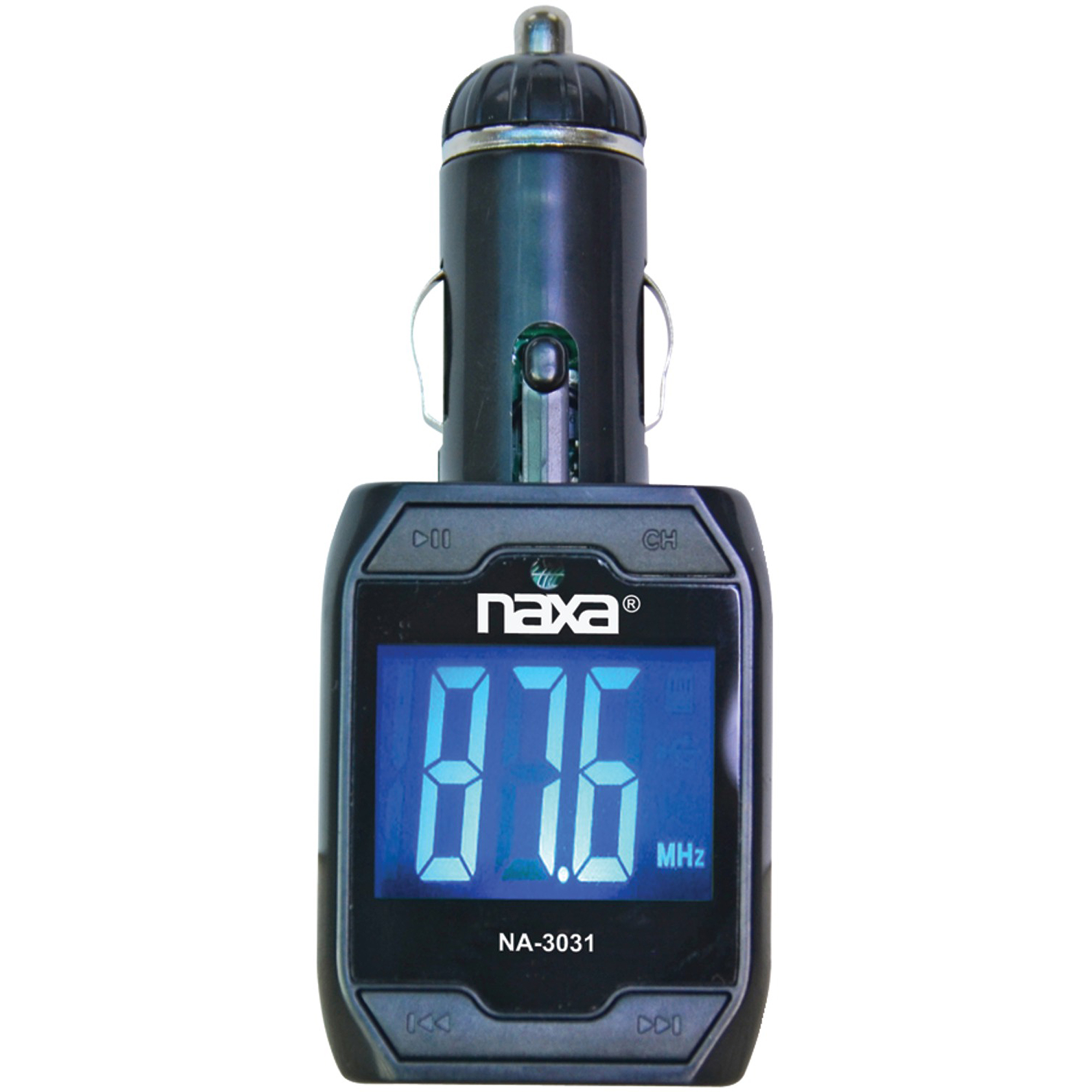 Naxa NA-3031 Wireless FM Transmitter with Built-in MP3 Player