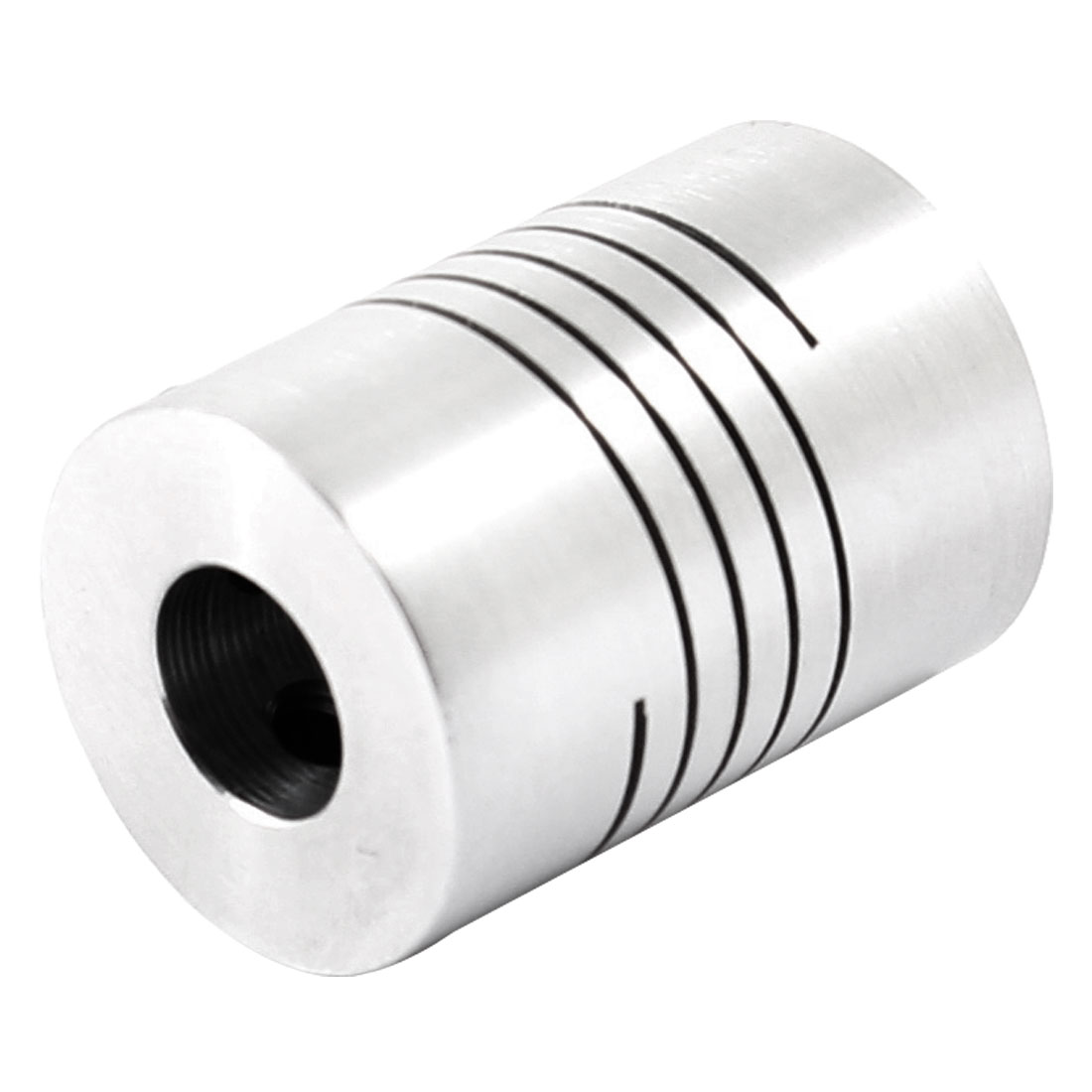 6mmx8mm 18mm Dia 25mm Length CNC Shaft Coupler Coupling Connect Motor Encoder
