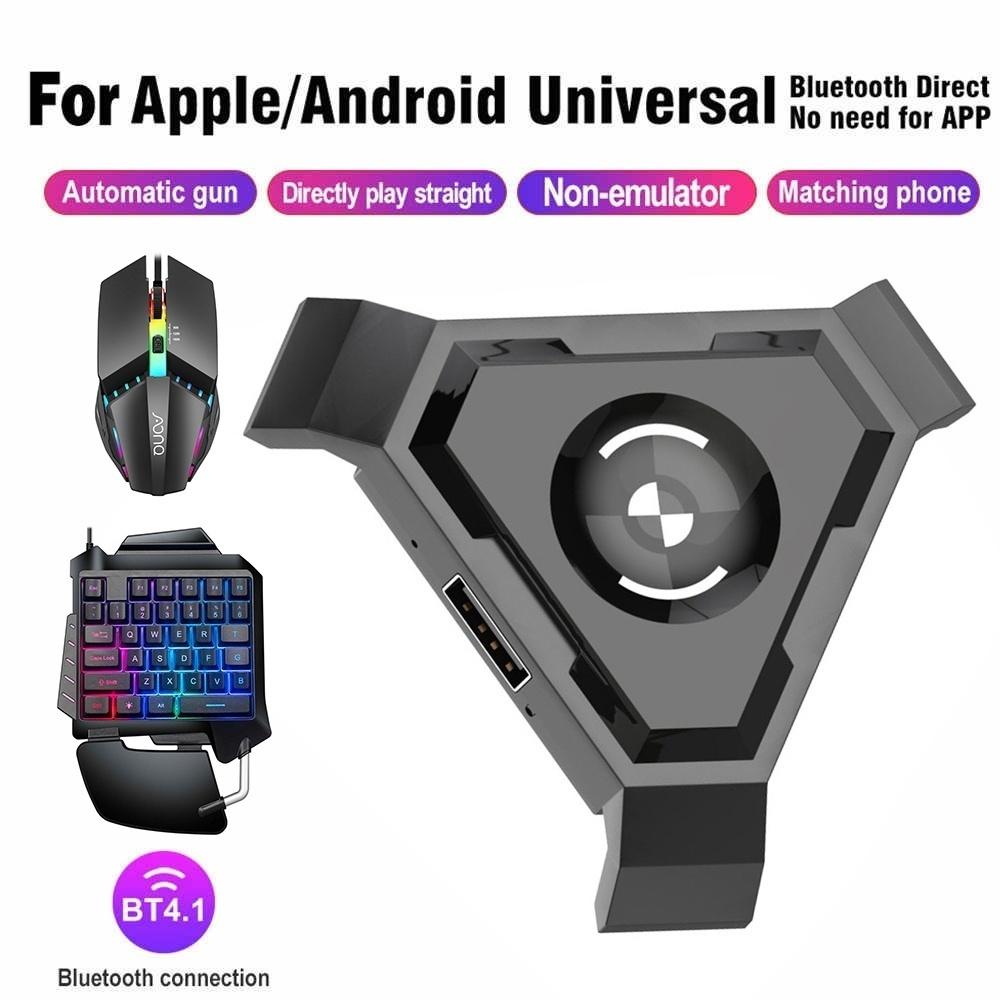 2020 New Colorful Light One Handed Keyboard Hand Game Artifact Right Hand Game Mouse Bluetooth Keyboard Mouse Device Connector For Mobile Phone Don T Sell Cell Phones Walmart Com Walmart Com