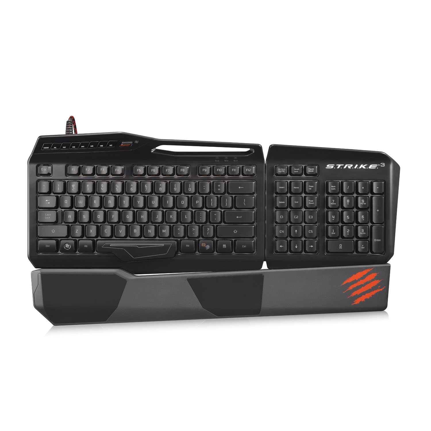 Mad Catz S.T.R.I.K.E 3 Gaming Keyboard