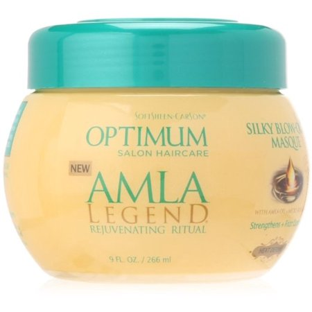 Optimum Amla Legend Silky Blow Out Masque 9 Oz  Pack Of 2
