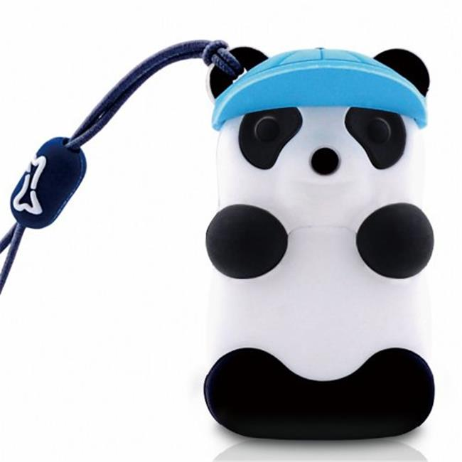 Bone Collection D08022B 8 GB Panda USB Drive, Blue Hat
