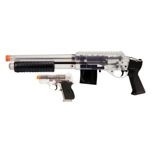 Mossberg M3000 Spring Shotgun (Short) and M5906 Spring Pistol, Clear Kit