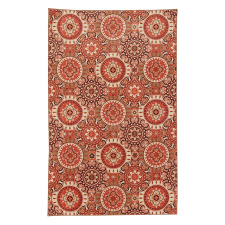 Mohawk Home Prismatic Busara Patterned Area Rug 60' X 60' 60' X 60 Interesting Patterned Area Rugs