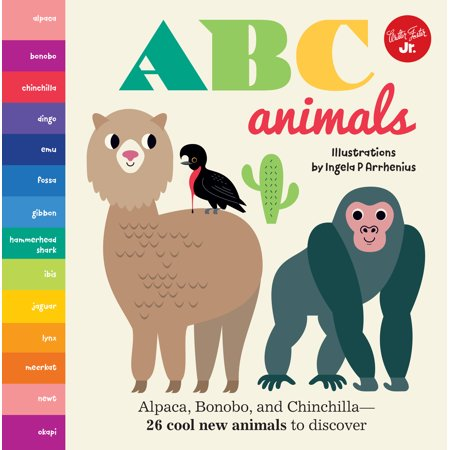 - ABC Animals Alpaca Bonobo and Chinchilla (Board Book)