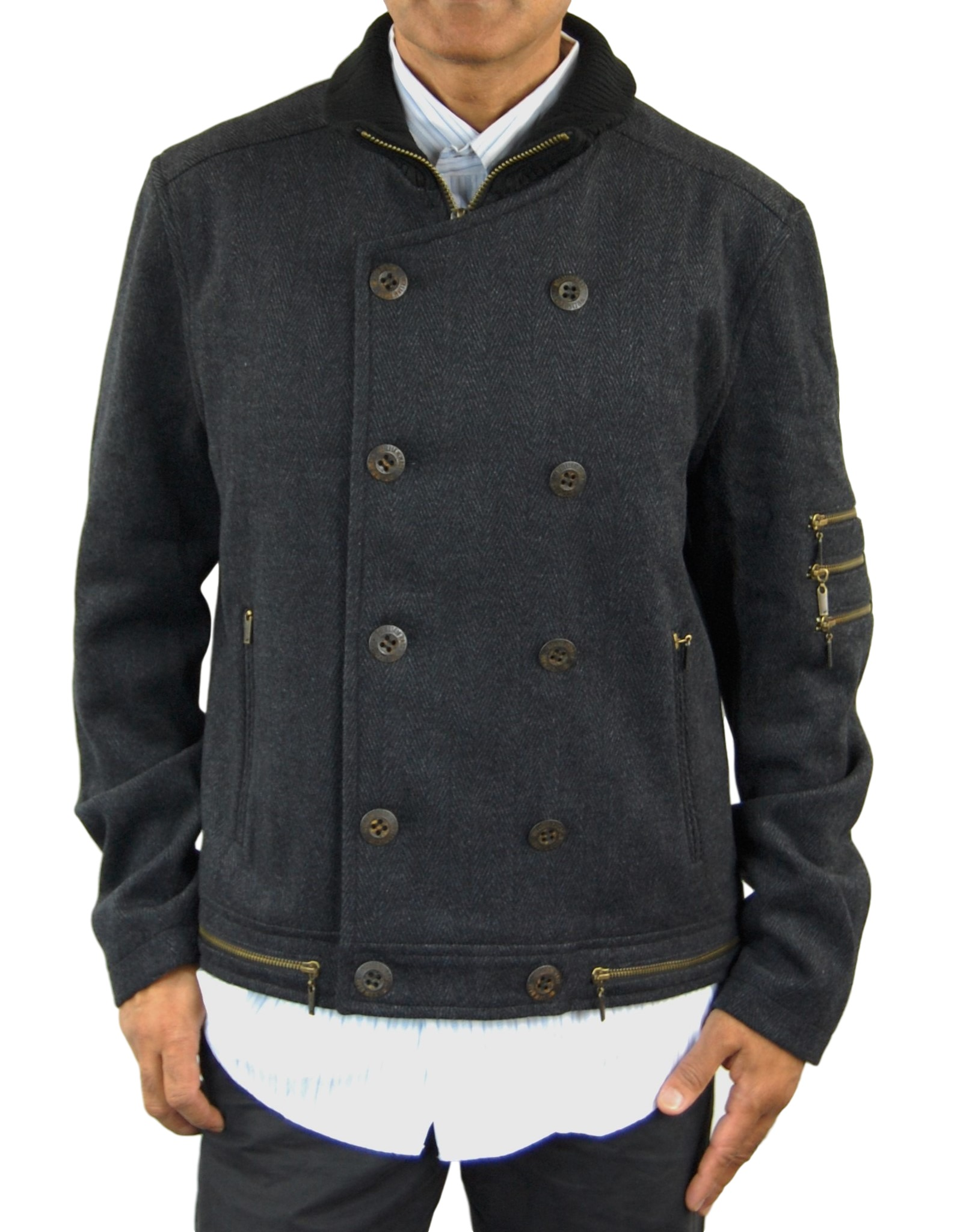 William Rast Men's Wool Jacket by William Rast
