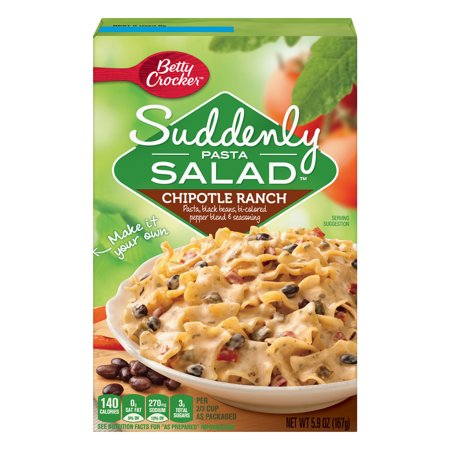 Dry Salad (Suddenly Salad Chipotle Ranch Pasta Salad Dry Meals 5.9)
