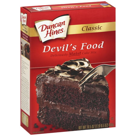 Duncan Hines ® Classic Devil's Food Cake Mix 16.5 oz Box