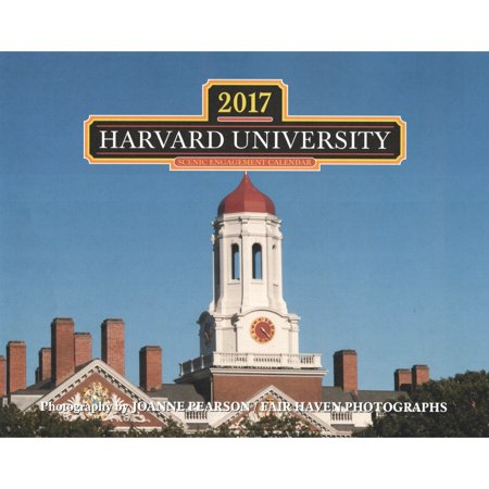 Harvard Calendar.Harvard Wall Calendar