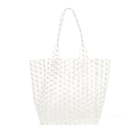 Frosted Dot Jelly Tote (Dot Market Tote)