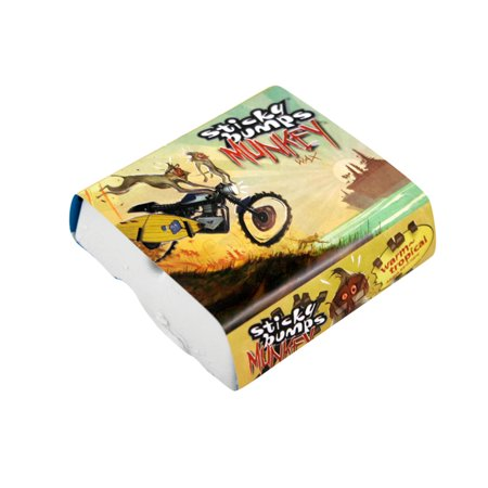 Sticky Bumps Surf Wax Munkey Warm Tropical White Pack Of 3
