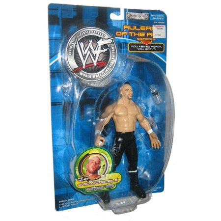 Wwf Rulers Of The Ring Series 4 Justin Credible Jakks Pacific Action Figure