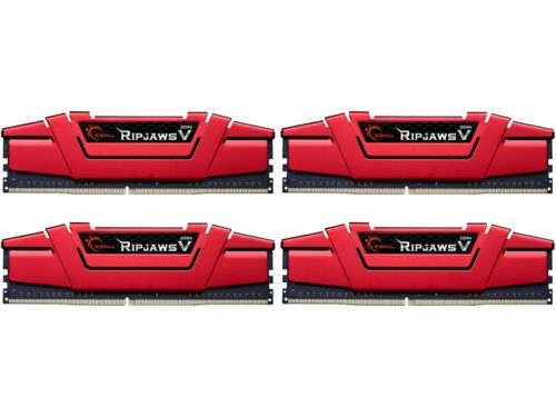 G.SKILL Ripjaws V Series 64GB (4 x 16GB) 288-Pin DDR4 SDRAM DDR4 3200 (PC4 25600) Desktop Memory Model F4-3200C15Q-64GVR