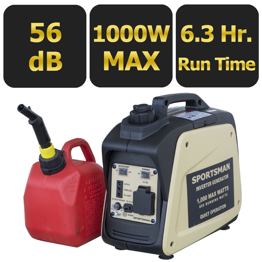 Sportsman 1000 Watt Inverter Generator - CARB Approved