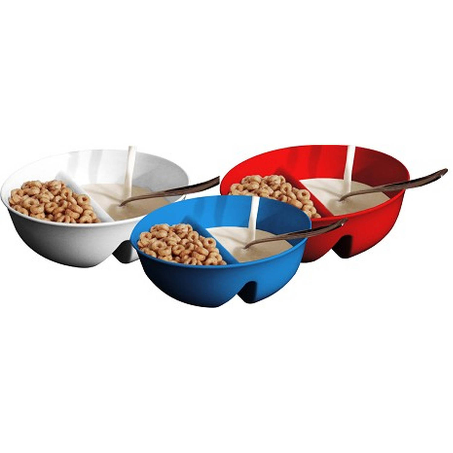 Just Crunch Anti-Soggy Bowl, 3-Pack