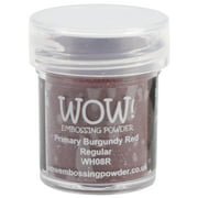 WOW! Embossing Powder 15ml-Primary Burgundy Red