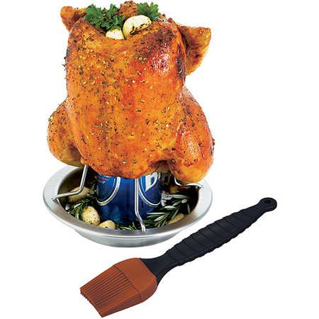 Onward Grill Pro 41333 Stainless Steel Chicken Roaster