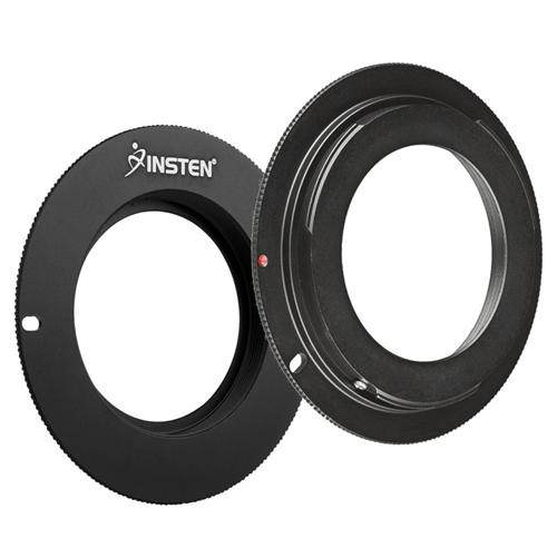 Insten M42 Lens to For Canon EOS EF Camera Adapter Ring, Black